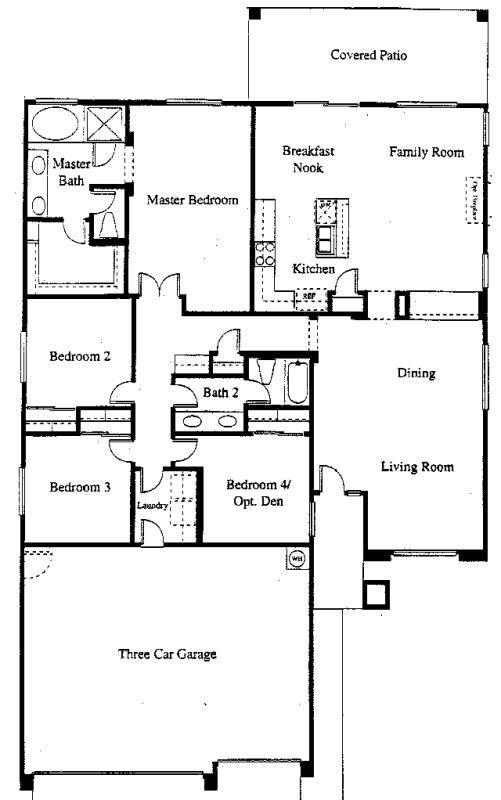 Coventry at the park homes for sale the grayhawk group for Coventry homes floor plans