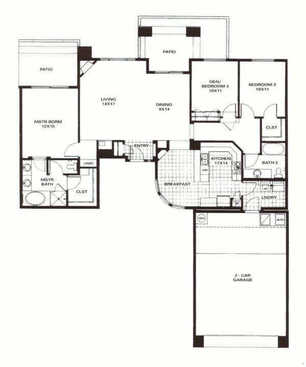 Tesoro homes for sale the grayhawk group for Monarch homes floor plans