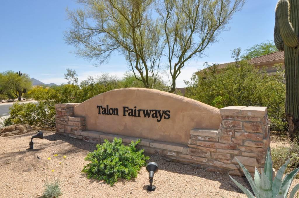 Talon Fairways-Sign